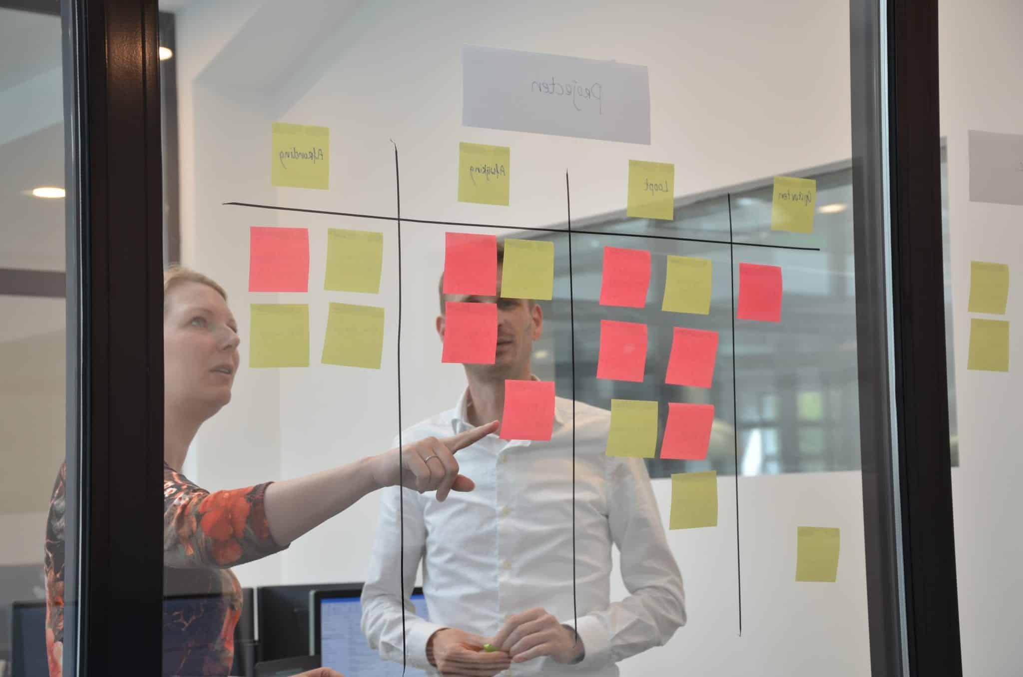 agile werken met Proud Nerds